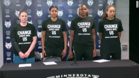 <h1>WNBA Players Fined For Supporting Black Lives Matter</h1>